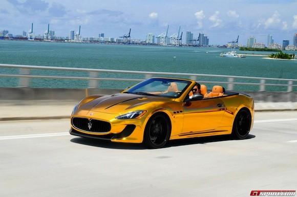 Mãn nhãn với Maserati mạ vàng tuyệt đỉnh ảnh 1