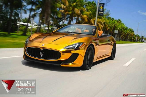 Mãn nhãn với Maserati mạ vàng tuyệt đỉnh ảnh 2