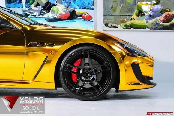 Mãn nhãn với Maserati mạ vàng tuyệt đỉnh ảnh 3