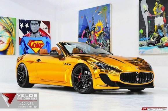 Mãn nhãn với Maserati mạ vàng tuyệt đỉnh ảnh 4
