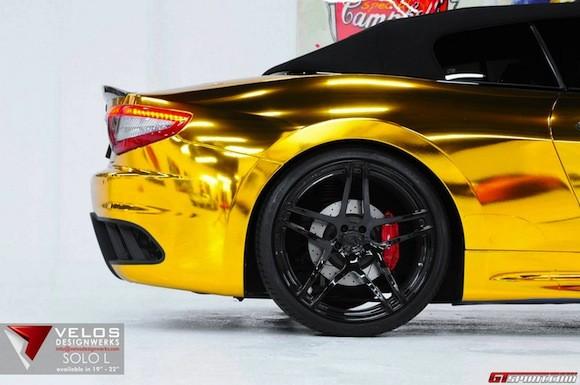 Mãn nhãn với Maserati mạ vàng tuyệt đỉnh ảnh 6