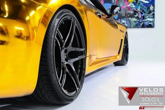 Mãn nhãn với Maserati mạ vàng tuyệt đỉnh ảnh 7