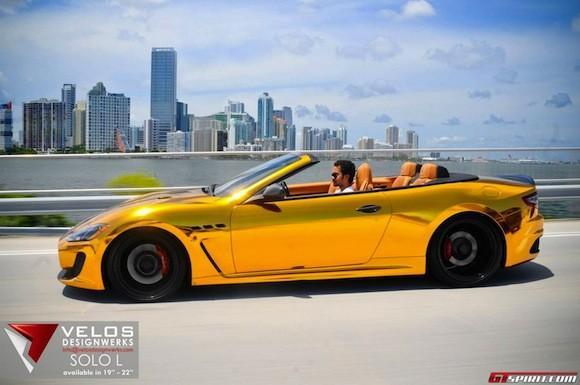 Mãn nhãn với Maserati mạ vàng tuyệt đỉnh ảnh 8