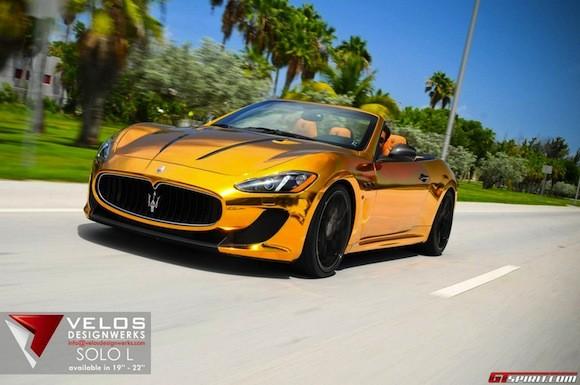 Mãn nhãn với Maserati mạ vàng tuyệt đỉnh ảnh 10