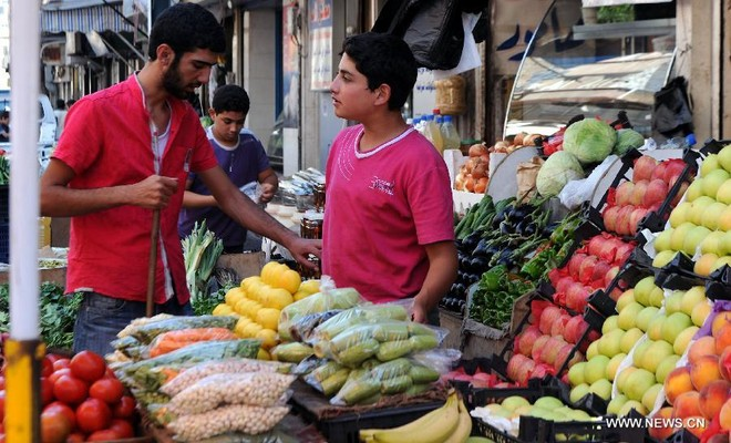 Dân Syria sống bình thản, bất chấp chiến tranh cận kề ảnh 7