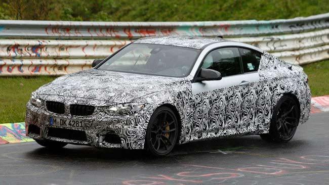 BMW M3 Sedan và M4 Coupe 2014 sẽ có nhiều cải tiến ảnh 1