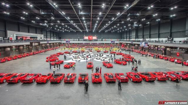 Lễ kỉ niệm hoành tráng 30 năm Ferrari đến Hồng Kông ảnh 1