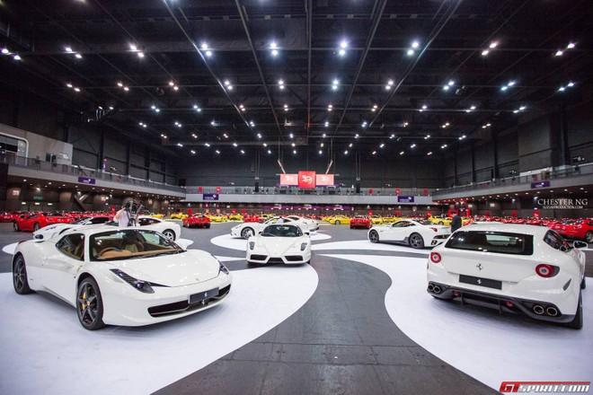 Lễ kỉ niệm hoành tráng 30 năm Ferrari đến Hồng Kông ảnh 4