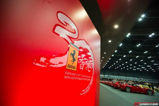 Lễ kỉ niệm hoành tráng 30 năm Ferrari đến Hồng Kông ảnh 6