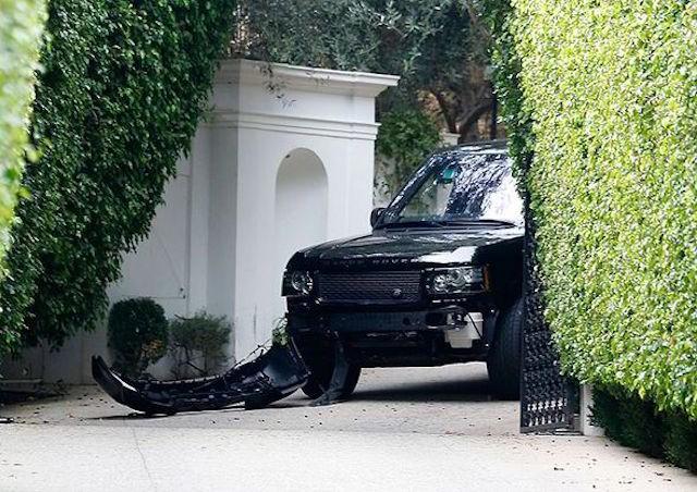 David Beckham lái Range Rover gây tai nạn ảnh 2