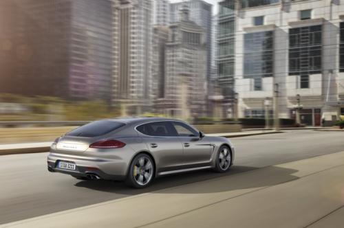 Porsche trình làng Panamera Turbo S 2014 ảnh 1