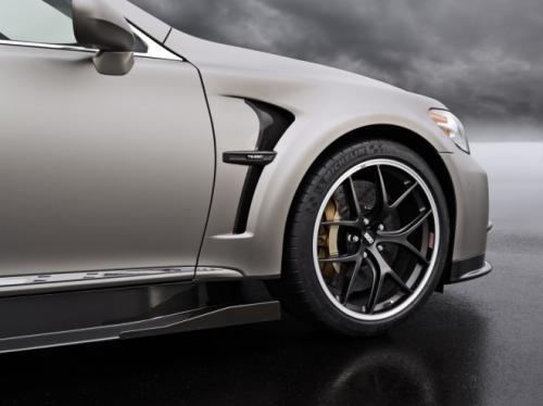 Lexus muốn ra mắt LS Sport 650 vào năm 2015 ảnh 5