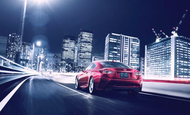 Lexus RC lộ diện ở Tokyo Motor Show ảnh 3