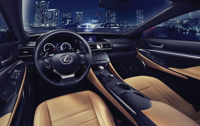 Lexus RC lộ diện ở Tokyo Motor Show ảnh 5