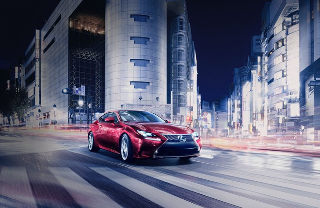 Lexus RC lộ diện ở Tokyo Motor Show ảnh 2