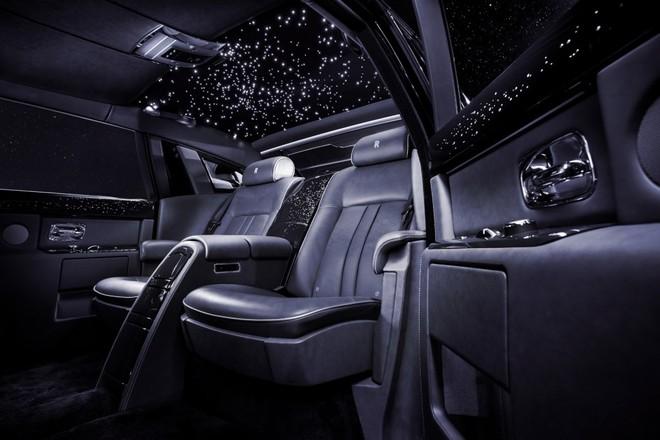 Rolls-Royce Celestial Phantom đính 446 viên kim cương ảnh 3