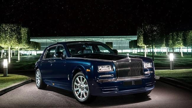 Rolls-Royce Celestial Phantom đính 446 viên kim cương ảnh 4