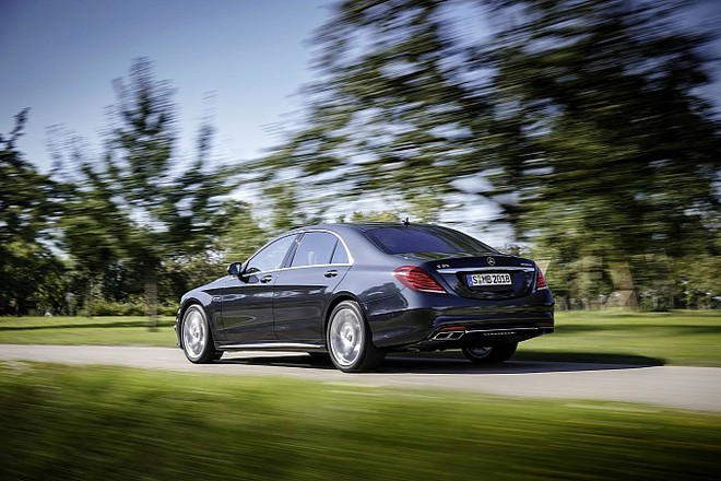 Mercedes trình làng sedan hạng sang S65 AMG 2014 ảnh 1