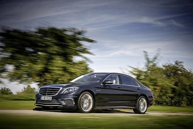 Mercedes trình làng sedan hạng sang S65 AMG 2014 ảnh 2