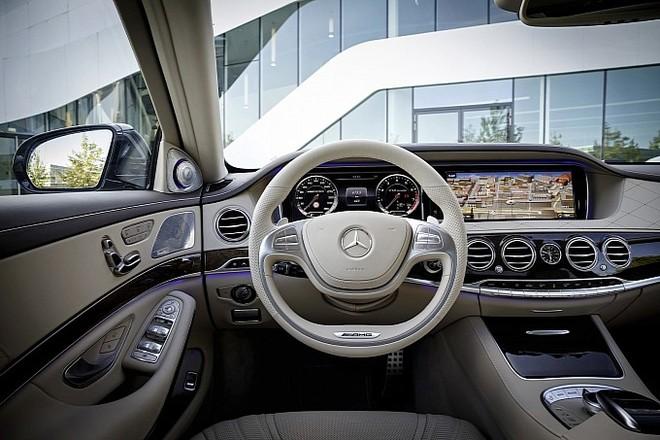 Mercedes trình làng sedan hạng sang S65 AMG 2014 ảnh 10