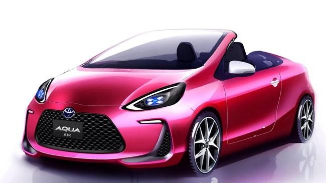 Toyota Aqua Air concept: Tiêu thụ xăng chỉ như xe máy ảnh 1