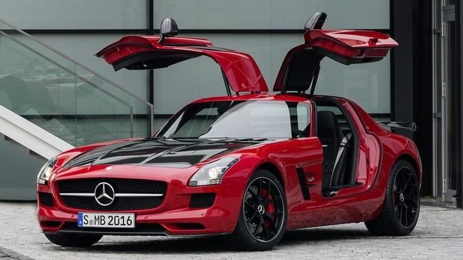 Mercedes SLS AMG lộ diện phiên bản cuối cùng ảnh 1
