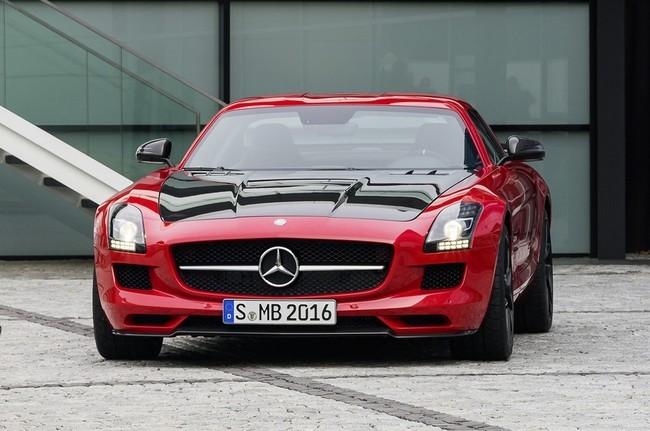 Mercedes SLS AMG lộ diện phiên bản cuối cùng ảnh 2