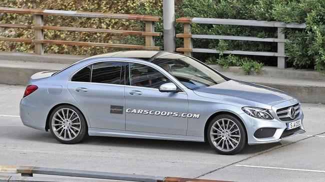 Lộ hình ảnh rõ nét của Mercedes-Benz C-Class mới ảnh 1