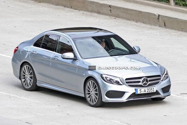 Lộ hình ảnh rõ nét của Mercedes-Benz C-Class mới ảnh 2