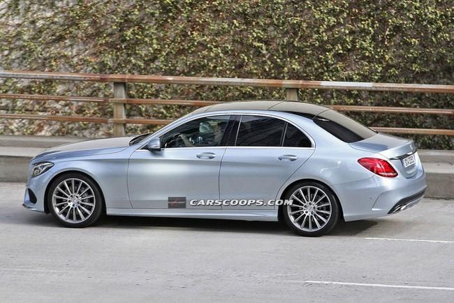 Lộ hình ảnh rõ nét của Mercedes-Benz C-Class mới ảnh 3