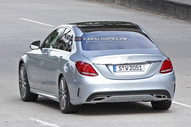 Lộ hình ảnh rõ nét của Mercedes-Benz C-Class mới ảnh 4