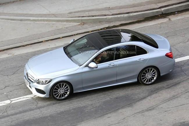 Lộ hình ảnh rõ nét của Mercedes-Benz C-Class mới ảnh 8