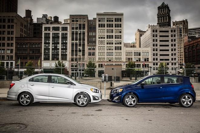 Chevrolet chính thức giới thiệu Sonic RS 2014 ảnh 3