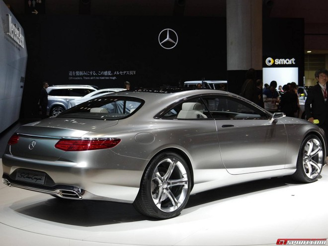 Mercedes S-Class coupe đẹp long lanh ở Tokyo Motor Show ảnh 2