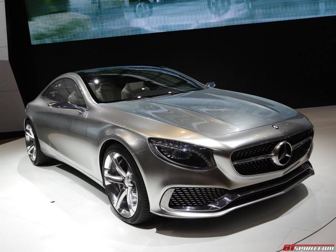 Mercedes S-Class coupe đẹp long lanh ở Tokyo Motor Show ảnh 1