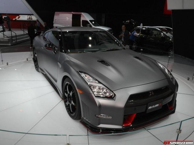 Xế sang Nissan GT-R Nismo xuất hiện bất ngờ ở Los Angeles Auto Show ảnh 1