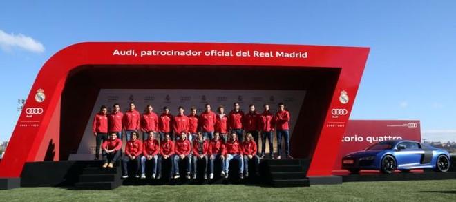 """Cầu thủ Real Madrid nhận """"quà"""" từ Audi ảnh 2"""