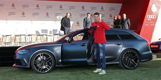 """Cầu thủ Real Madrid nhận """"quà"""" từ Audi ảnh 1"""