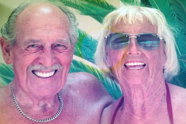 97 tuổi vẫn kết hôn vì tình yêu sét đánh ảnh 1