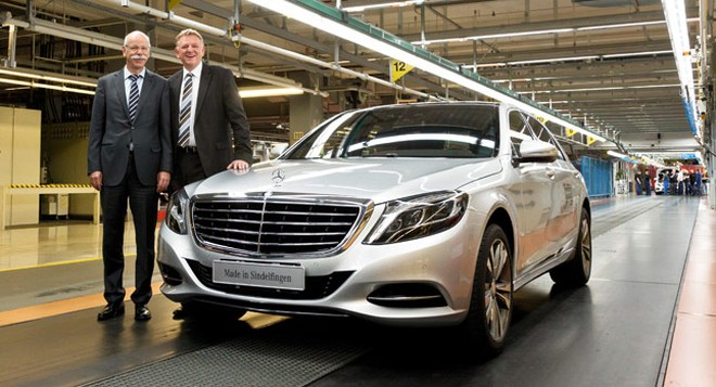 Mercedes-Benz lập kỉ lục về doanh thu trong năm 2013 ảnh 1