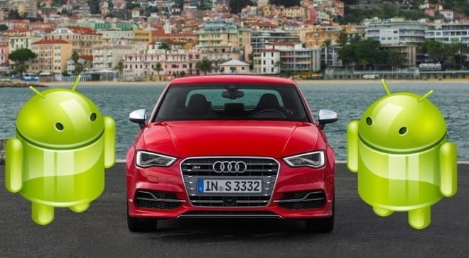 Audi mang hệ điều hành Android đến với xe hơi ảnh 1