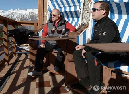 Tổng thống Putin trổ tài trượt tuyết ảnh 3