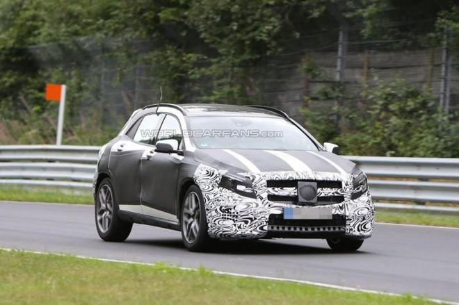 Mercedes GLA 45 AMG và S600 Maybach thẳng tiến Detroit Auto Show ảnh 1