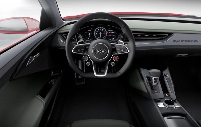 Audi trang bị đèn laze cho Quattro Sport Concept ảnh 4