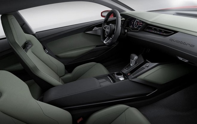 Audi trang bị đèn laze cho Quattro Sport Concept ảnh 5