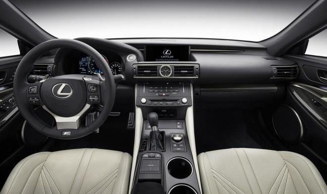 Lexus RC F trình làng đầy ấn tượng ảnh 6