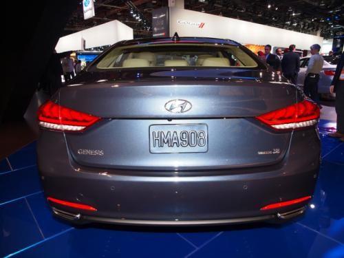 Hyundai Genesis 2015: Mạnh mẽ và hiện đại ảnh 3