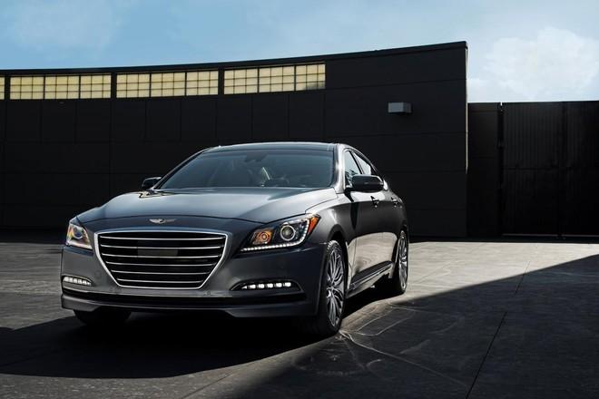 Hyundai Genesis 2015: Mạnh mẽ và hiện đại ảnh 7