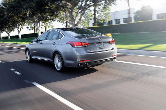 Hyundai Genesis 2015: Mạnh mẽ và hiện đại ảnh 8