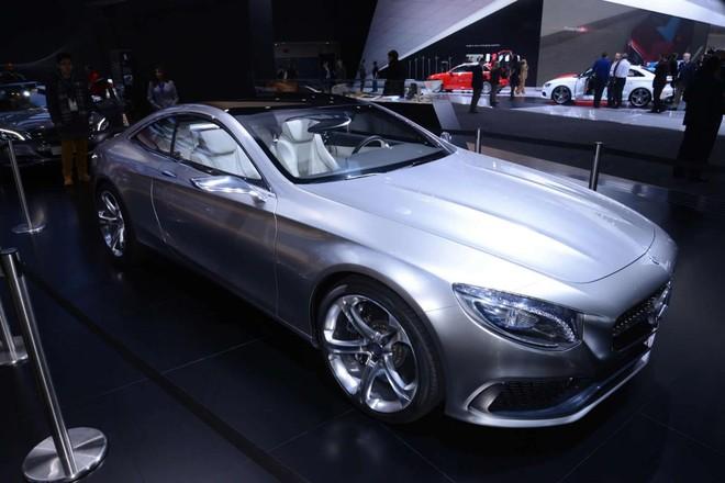 Mercedes sẽ sản xuất S-Class Coupe, S500 và C300 plug-in hybrid ảnh 1